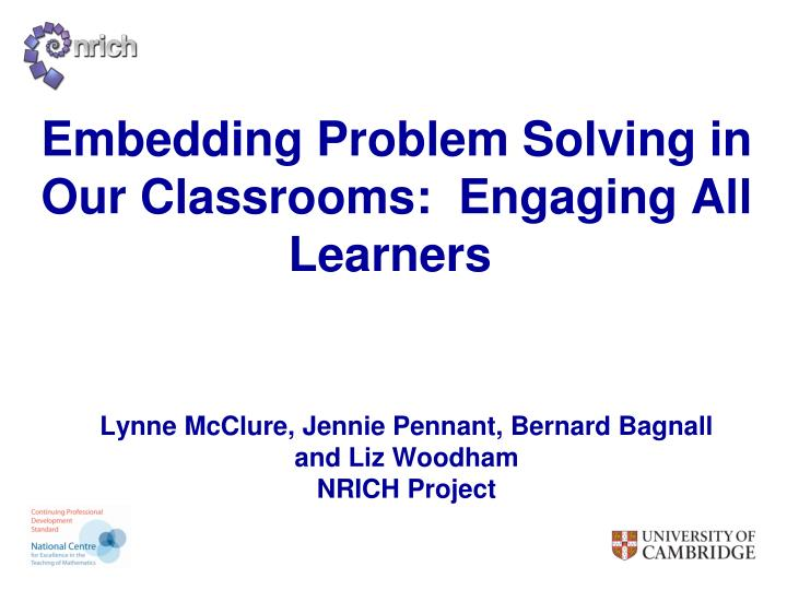 nrich problem solving trial and improvement