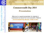 Commonwealth Day 2014 Presentation