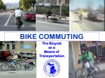 The Bicycle as a Means of Transportation