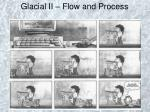 Glacial II – Flow and Process