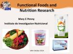 Functional Foods and Nutrition Research