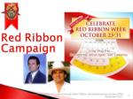 Red Ribbon Powerpoint Presentation 2012