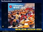 Section 1: The Federal Bureaucracy Section 2: Executive Departments and Independent Agencies