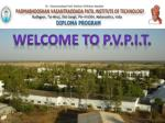 Welcome to  p.v.p.i.t .