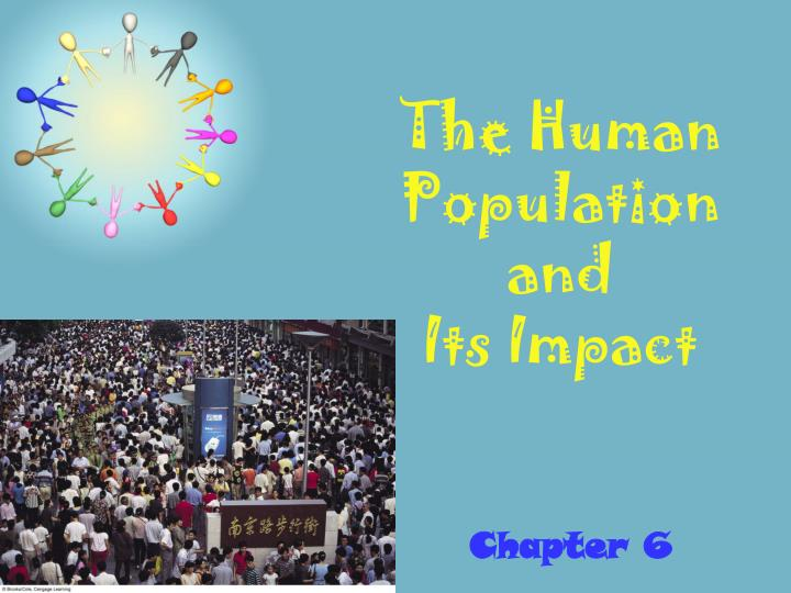 the human population and its impact n.