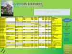 If you want to now all the rugby fixtures for JFS in 2010-11, then this is the place!