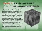 Chapter 7 The minute structure of porous wood / 阔叶树材微观构造
