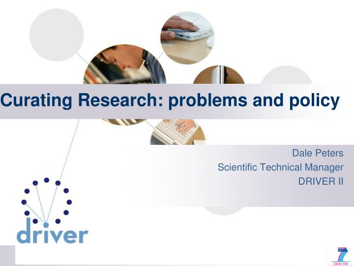 curating research problems and policy n.