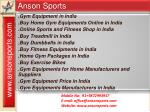 Buy Home Gym Equipments Online in India