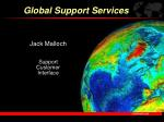 Jack Malloch Support Customer Interface