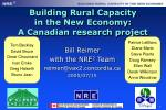 Building Rural Capacity in the New Economy: A Canadian research project