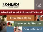 Welcome to : Confidentiality, Substance Use Treatment, and Health Information Technology