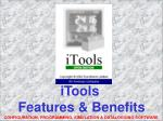 iTools Features & Benefits