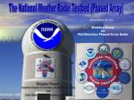 The National Weather Radar Testbed (Phased Array)