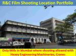 R&C Film Shooting Location Portfolio