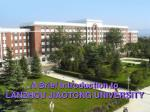 A Brief Introduction to LANZHOU JIAOTONG UNIVERSITY