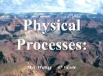 Physical Processes: Mrs. Walker     4 th  Grade