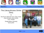 The LiteracyAccess Online Story by