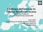 Armin Fidler Sector Manager for Health, Nutrition, Population, Europe and Central Asia