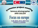 Comenius project meeting