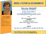 Nicole Midkiff 518.312.5917 nmidkiff460@gmail * * * Erica has successfully completed ECON2106