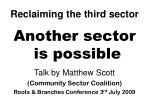 Reclaiming the third sector