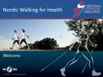 Nordic Walking for Health