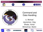 Command and Data Handling