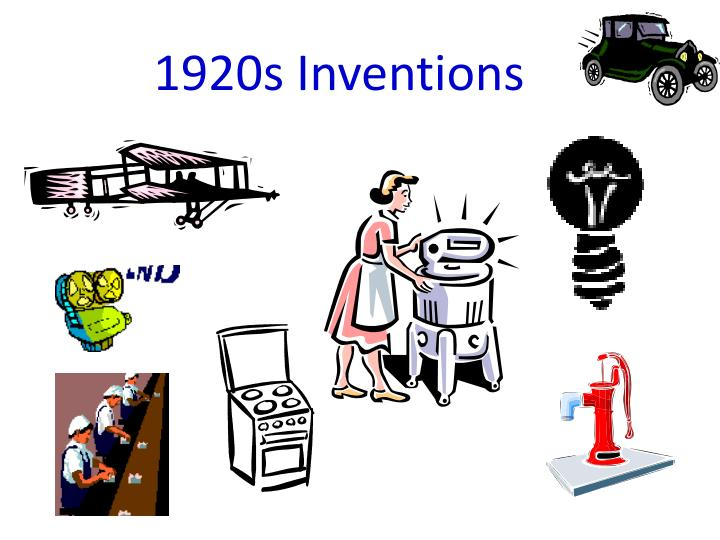 1920s inventions n.