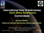 International Year of Astronomy  Cornerstone