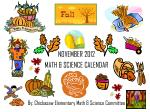 By: Chickasaw Elementary Math & Science Committee