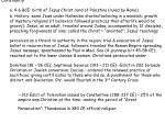 Christianity a. 4-6 BCE: birth of Jesus Christ, land of Palestine (ruled by Rome)