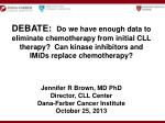 Previously Untreated CLL
