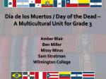 Día de los Muertos / Day of the Dead – A Multicultural Unit for Grade 3