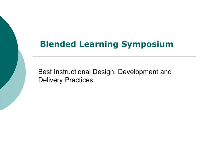 best instructional design development and delivery practices n.