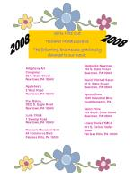 Girls Nite Out Holland Middle School The following businesses graciously donated to our event: