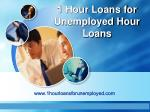 Loans For Unemployed- Get Instant Cash Even You Are Jobless