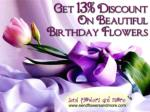 Send Discount Birthday Flowers For Your Dear One