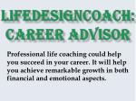 Lifedesigncoach: Career Advisor