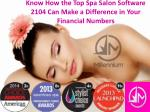 Know How the Top Spa Salon Software 2104 Can Make a Differen