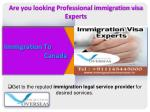 Plan your future with Immigration Overseas