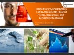 Ireland Power Market Outlook to 2030, Update 2014 - Market