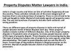kislay Pandey Property Dispute Matter Lawyer