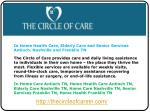 In Home Health Care, Elderly Care and Senior Services Antioc