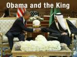 Obama and the King