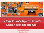 La Caja China's Tips On How To Season Ribs For The Grill