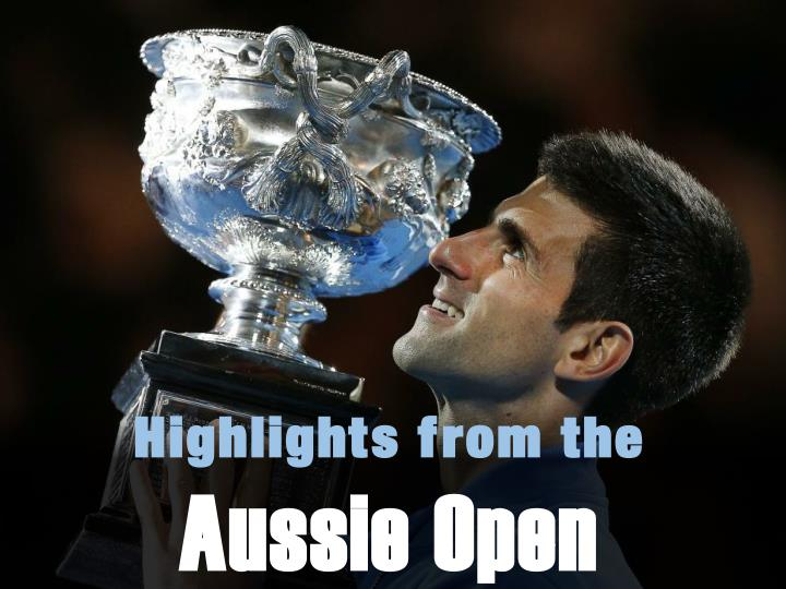 highlights from the aussie open n.