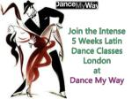 5 Weeks Latin Dance Classes London at Dance My Way