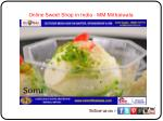 Online Sweet Shop in India - MM Mithaiwala