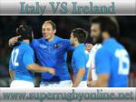 how to watch Ireland vs Italy live rugby